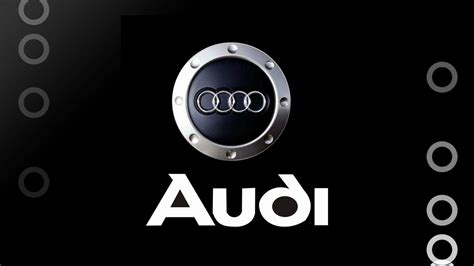audi logo audi brand logo design background hd wallpaper design