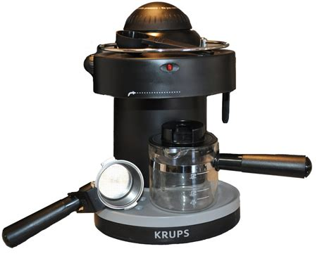 Krups Coffee Machine krups xp1000 steam espresso machine review the gadgeteer