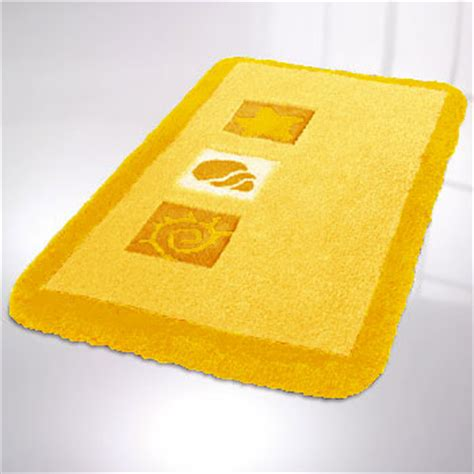 Bright Yellow Bathroom Rugs Beach Seashell Kids Bathroom Rugs