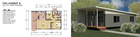Cottage Floor Plans by The Lambert B 2 Bedroom Modular Home Parkwood Homes