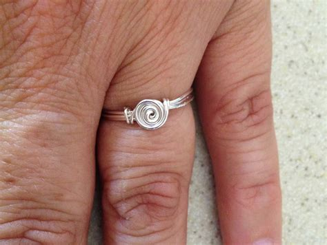 how to make rings out of wire and wire rings