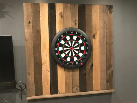 reclaimed wood dartboard diy dartboard surround diy wiki