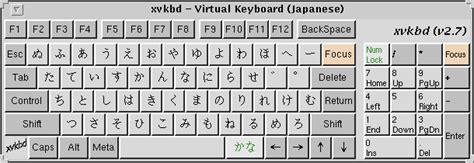 online keyboard layout editor xvkbd virtual keyboard for x window system