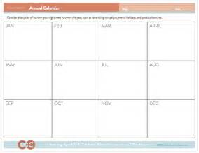 Whole Year Calendar Template by Free Editorial Calendar Template
