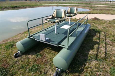 mini pontoon duck boat floating duck blind and fishing pontoon rebel xl duck