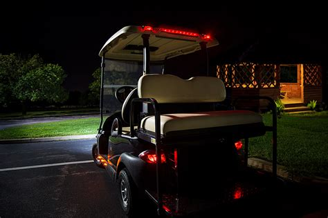 golf cart led light bar golf cart led brake and turn light bar 18 quot golf cart
