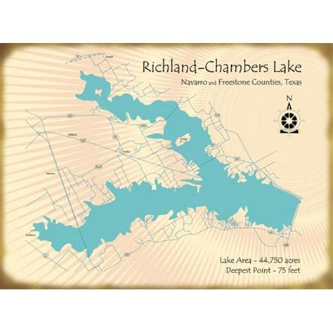 richland texas map richland chambers lake near corsicana tx my hometown