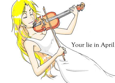 drakorindo your lie in april kaori your lie in april by kwokheichan on deviantart