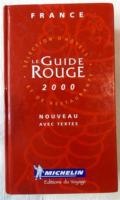 france le guide 9782067223769 michelin le guide rouge france 2000 le festin de babette
