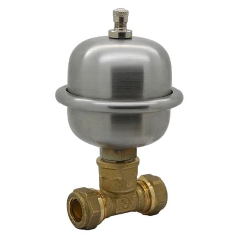 easy fit mini expansion vessel shock arrestor anti water