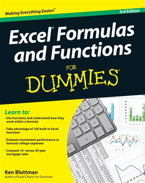 Spreadsheet Formulas For Dummies by Excel Formulas And Functions