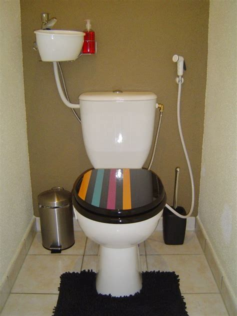 Mini Dusche douchette toilette