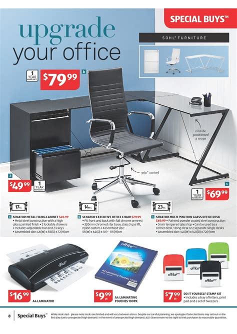 Aldi Filing Cabinet Aldi Catalogue Home Electronics Page 8