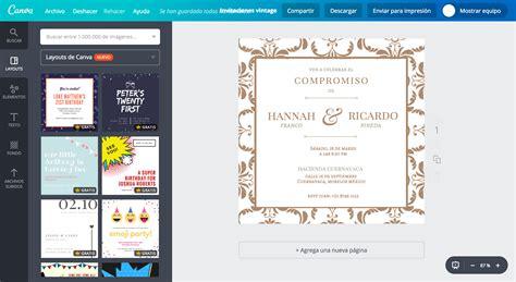 crear imagenes vintage online dise 241 a invitaciones vintage online gratis canva