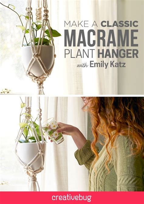 How To Make A Plant Hanger Out Of Yarn - the 25 best macrame projects ideas on macrame