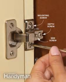 Kitchen Cabinet Door Hinge Adjustment How To Fix Cabinet Door Hinges Apps Directories