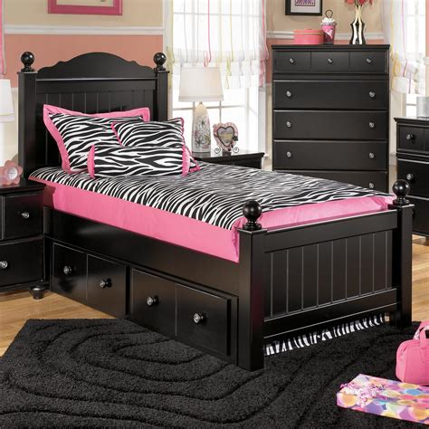 twin bed ashley furniture ashley signature design jaidyn twin poster bed with