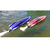 RC ADVENTURES  Duelling Traxxas Spartan Speed Boats And