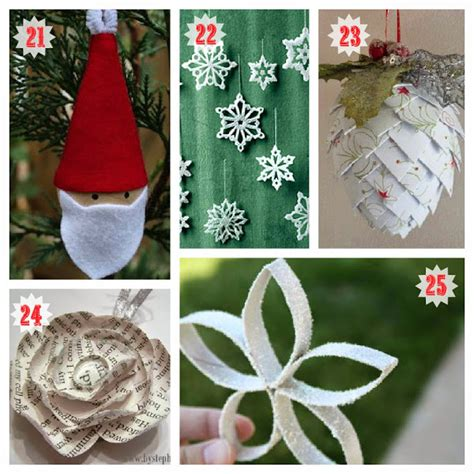 Easy Handmade Decorations - easy ornaments casual cottage