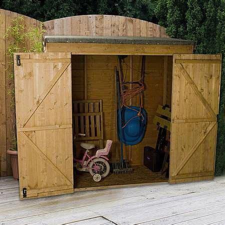 overlap modular pent storage shed waltons