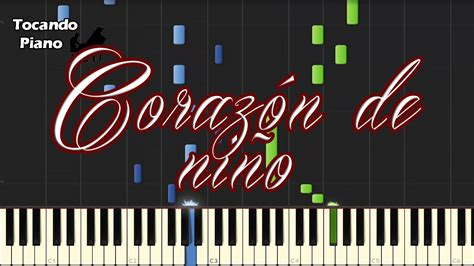 tutorial piano corazon de niño coraz 243 n de ni 241 o piano youtube