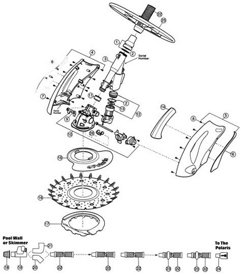 polaris pool parts diagram polaris 140 parts diagrams mypool