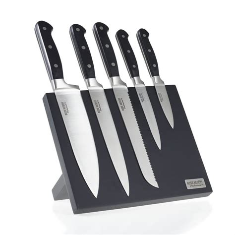 Stainless Steel Kitchen Knives Set Review Ross Henery Professional 5 Premium Stainless Steel Kitchen Knife Set On A Stylish