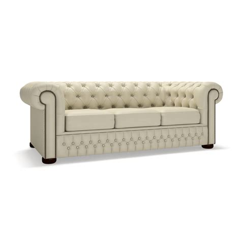 Chesterfield 3 Seater Sofa Bed From Sofas By Saxon Uk 3 Seater Sofa Bed