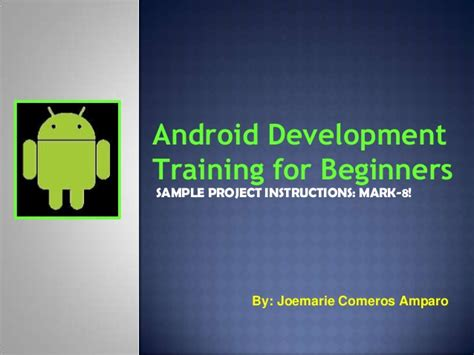 android development for beginners activity