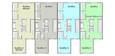 4 plex apartment plans garage plans estimated price shedbra