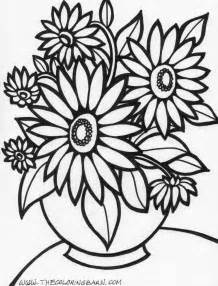 flower coloring pages koloringpages