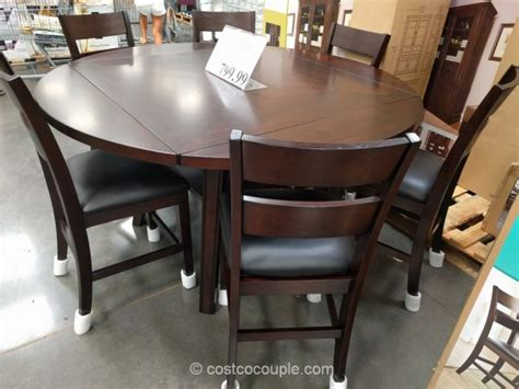 7 dining room table sets bayside furnishings 7 counter height dining set