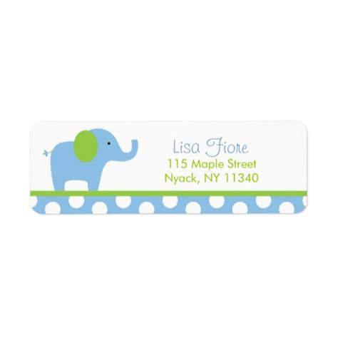 avery templates for baby shower mod elephant baby shower address labels zazzle