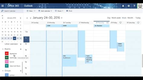 Where Is Calendar In Office 365 Exploring Calendar In Office 365