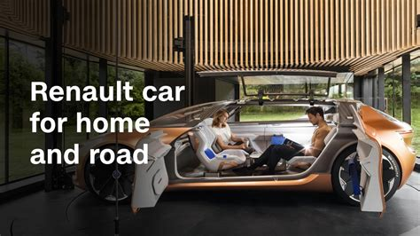 driving a renault on the this renault car can become part of your house