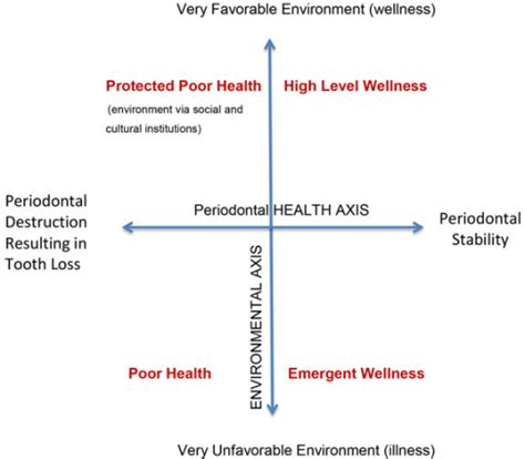 high level wellness definition of high level wellness by periodontal wellness grid adapted from dunn hl 161