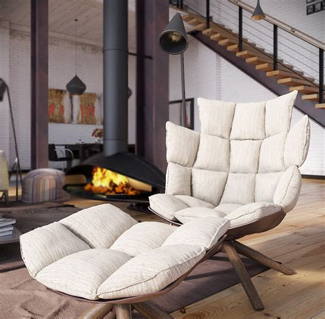 Industrial Loft Furniture by Rip3d Industrial Loft Deconstructed Quilted Eames Style Chair In Open Plan Fireplace Living