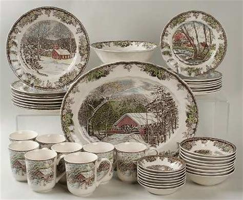 Identify Pattern Vintage Johnson Brothers | johnson brothers the friendly village quot england 1883