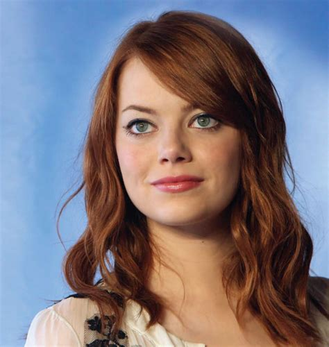 emma stone brown hair emma stone emma stone with brown hair