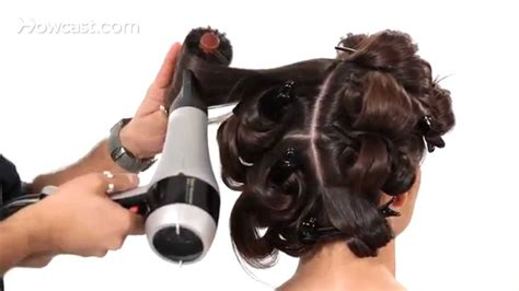 How To Blow Dry For Big Bouncy Hair Salon Hair Tutorial