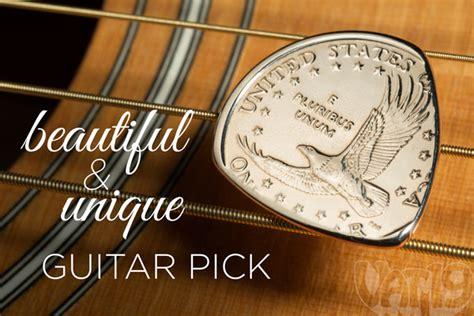 gold picks golden dollar coin guitar made from a sacagawea