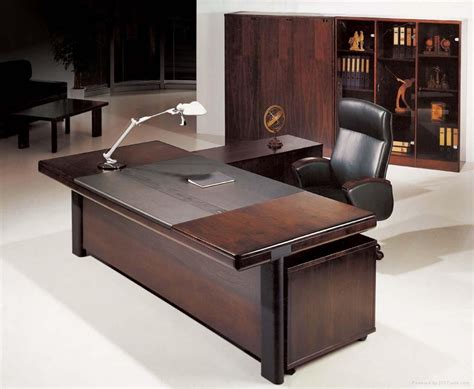 Home Office Wood Desk Solid Wood Executive Desk And Executive Office Desk Minimalist Desk Design Ideas