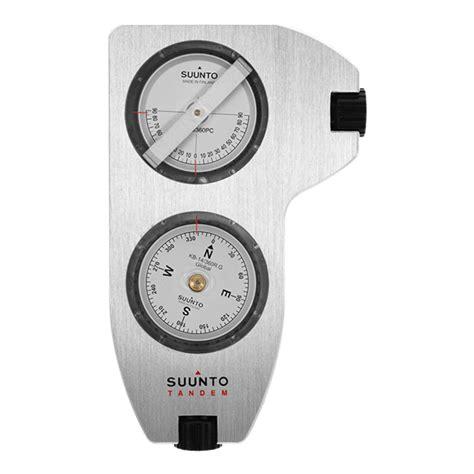 Suunto Tandem Clinometer With Precision Compass suunto tandem 360pc 360r dg clino compass compass clinometer