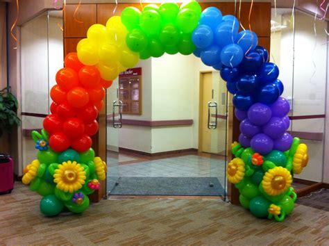 Singapore Balloon Rainbow Arch   THAT Balloons