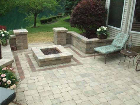 square pits designs square pit design outdoors