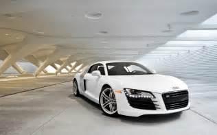 Audi R8 White Background Free 1920x1200 White Audi R8 Desktop Wallpaper
