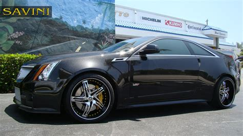Wheels Cadillac cts v savini wheels