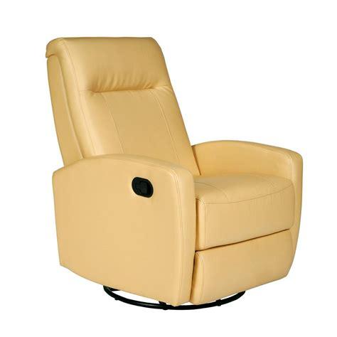 yellow recliner stefan swivel glider recliner bedford yellow opulence