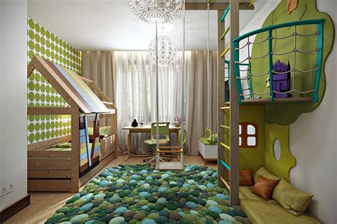 Childrens Wall Mural 25 modern kids bedroom designs perfect for both girls and