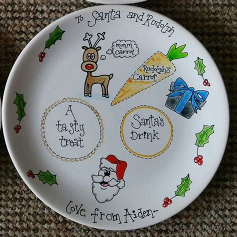 ideas for christmas plate designs 8 best plates images on dishes plates and